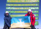 Brothers Kevin Hawkins '97 and James Dodds '98 climb Kilamanjaro